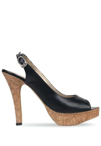 CLAYMORE black Claymore sepatu high heels MZ 907 Black BAFFDSH06EB4E6GS_1