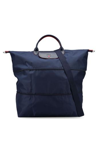LONGCHAMP blue Le Pliage Club Travel Bag (nt) 738BFAC277DF71GS_1