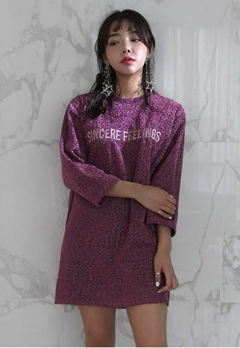 Sincere Feeesprit 香港 outletlings 閃飾長版上衣, 服飾, 洋裝