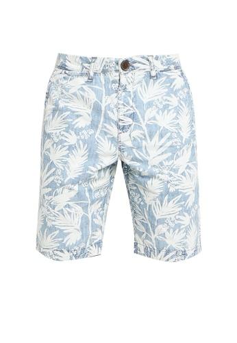SUPERDRY blue International Chino Shorts B9851AA3BE812BGS_1