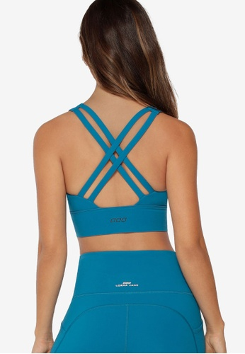 Lorna Jane blue Nicole Long Line Bra 9D125USF02501DGS_1