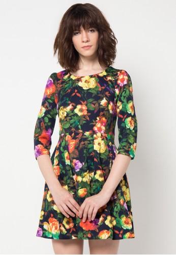 WHITEMODE multi Carmen Dress WH193AA12HCLID_1