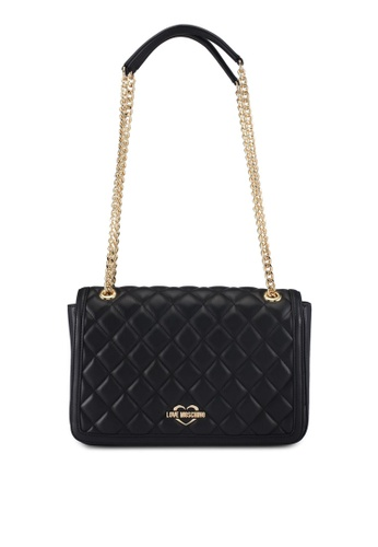 Love Moschino black LOVE MOSCHINO Shoulder Bag LO478AC0SXZCMY_1