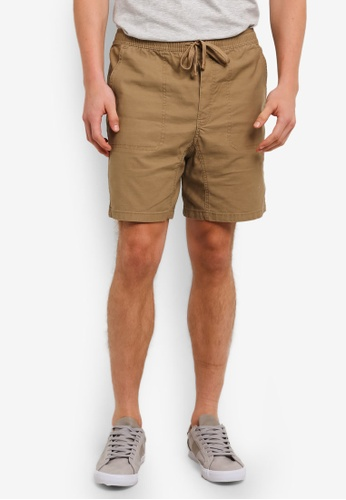 Cotton On brown Easy Shorts CO372AA0S9N4MY_1
