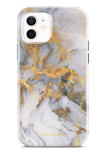 Polar Polar white Mist Marble Dual-Layer Tough Case Glossy For iPhone 12 Pro / iPhone 12 92990AC8416A02GS_1