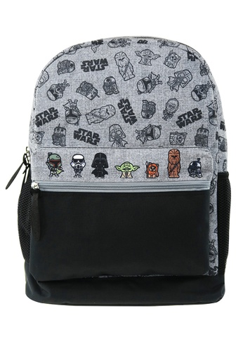 Star Wars black Disney Star Wars Grey Mark Teen Backpack FF31AKCE66252CGS_1