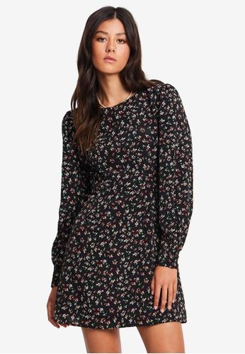 Sável black Eliyah Mini Dress 08C25AA641CB08GS_1