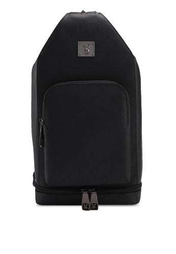 Playboy black Playboy Casual Backpack C3B70AC7F409C4GS_1