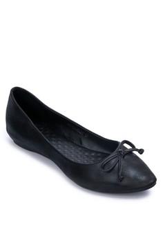Bow Almond Toe Ballet Flats