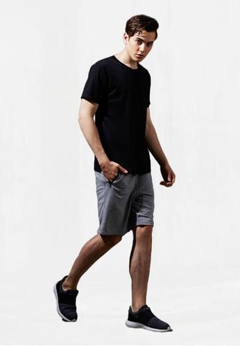 Life8 grey Sporty Casual Cotton Shorts-14017-Grey LI283AA0FFI7SG_1