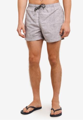 Factorie grey Jose Poolboy Shorts FA880AA0SAATMY_1