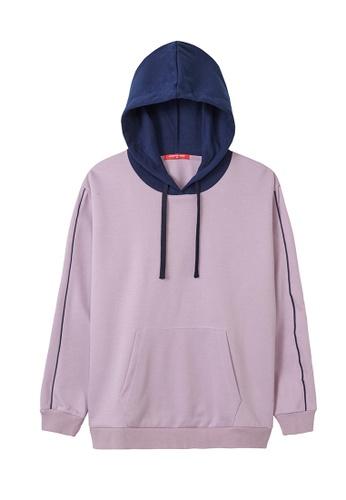 Cheetah purple Cheetah Ladies Casual Hoodie Jacket - CL-65028-C1 B98AAAAB240978GS_1