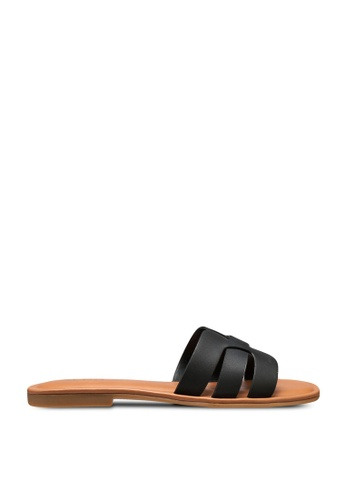 ALDO black Idamea Slide Sandals 3FE69SH15CEFE5GS_1