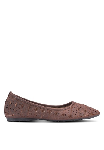 Louis Cuppers brown Casual Flats LO977SH56BCXMY_1