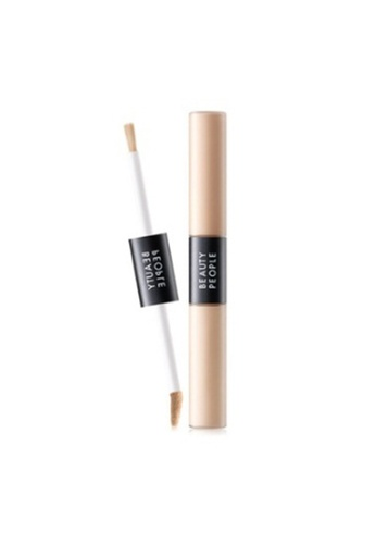 Beauty People beige Absolute Cover Fit Liquid Concealer Duo #21 Conceal Beige BE396BE0S7DXMY_1