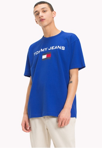 Tommy Jeans blue TJM 90s LOGO TEE FC433AA30EF092GS_1