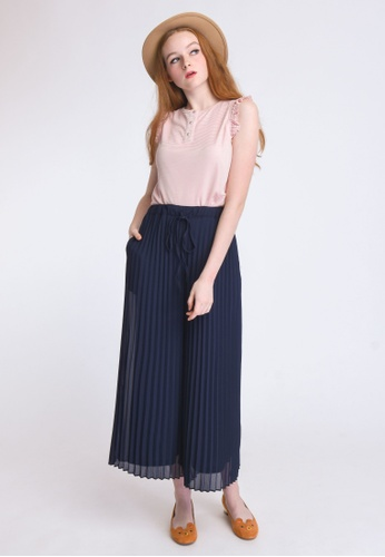 L'zzie pink KATHLEEN TOP - PINK 6C6B3AAC08E1EAGS_1