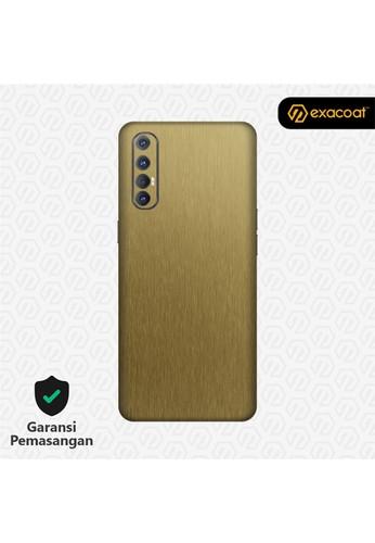 Exacoat Oppo Reno 3 Pro Skins Titanium Series - Titanium Gold EA39FESB3367A6GS_1