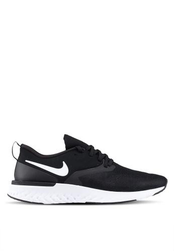 2884a7200f2 Nike black Nike Odyssey React Flyknit 2 Shoes 3857ESH2834B38GS 1