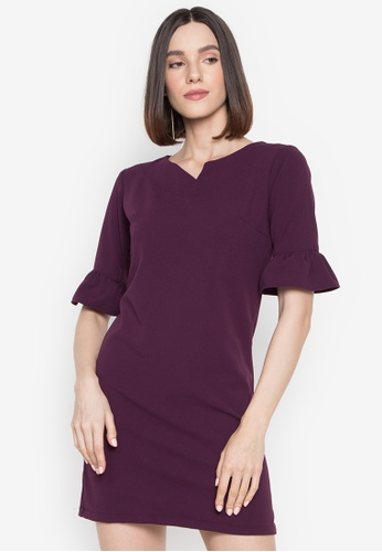 RUESALIDOU purple Keisha Dress 073E2AAE01563EGS_1