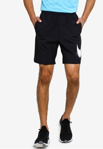 Nike black Men's Flex Woven Training Shorts F4322AA2A7979DGS_1