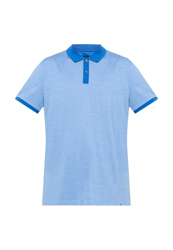 BOSS blue Phillipson Polo Shirt 3127FAA0E6BEBAGS_1