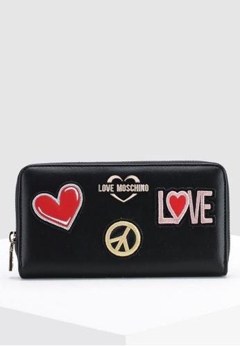 625525b10d Buy Love Moschino Zip Around Wallet Online on ZALORA Singapore