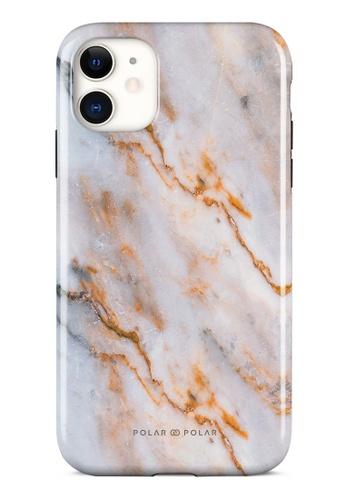 Polar Polar brown Coffee Cream Dual-Layer Tough Case Glossy For iPhone 11 5B492AC342AE41GS_1