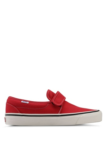 VANS red Slip-On 47 V DX Anaheim Factory VA142SH0SWS3MY_1