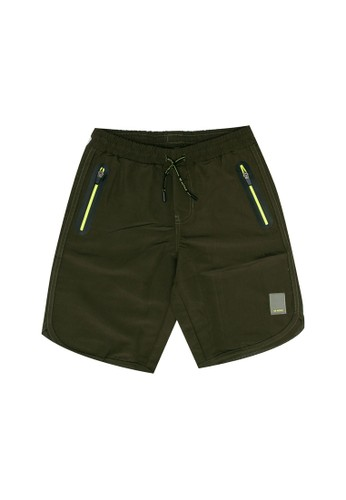 FOX Kids & Baby green Casual Shorts 866D7KA307CA1CGS_1