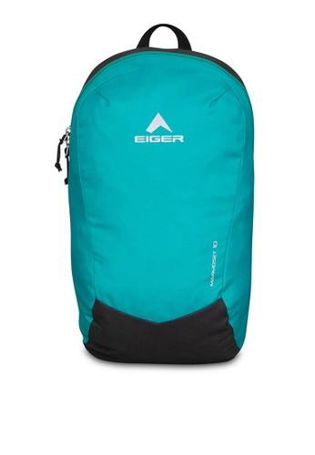 Eiger green and blue Marmoset 10 1Fa Basic Daypack C4C95AC27D4B06GS_1