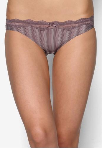 Fiona 蕾絲條紋內褲, 服esprit服飾飾, 內褲