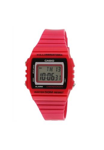 Casio pink CASIO GENERAL W-215H-4AVDF WOMEN'S WATCH E6AB0AC3FDB9ADGS_1