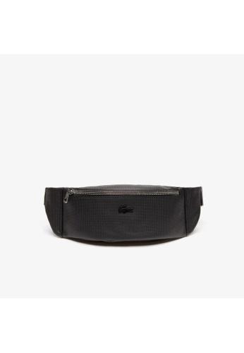 Lacoste black Lacoste Men's Chantaco Soft Leather Bum Bag-NH2816CE 2898EACA263AC6GS_1