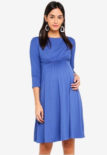 Tiffany Rose blue Maternity Cathy Dress 65BA8AAA408839GS_1