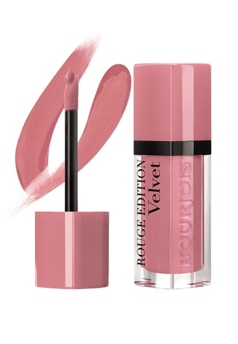 BOURJOIS Rouge Edition Velvet Lipstick #10 Don't Pink Of It! BO885BE75MXOSG_1