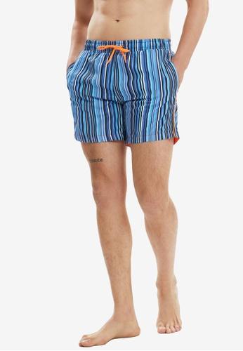 Trendyol blue Multi Color Swimming Shorts E124DUS836767AGS_1