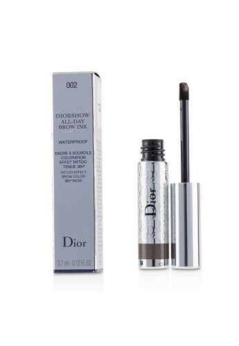 christian dior CHRISTIAN DIOR - Diorshow All Day Waterproof Brow Ink - # 002 Dark 3.7ml/0.12oz AE78FBEA544017GS_1