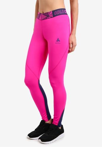 Odlo pink Ceramicool Pro Pants OD608AA0S11XMY_1