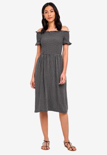 9047516df993c Shop WAREHOUSE Bardot Cheesecloth Dress Online on ZALORA Philippines