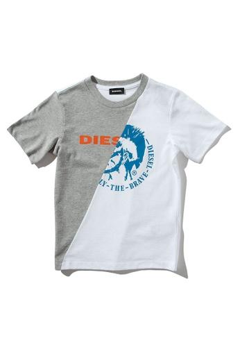 Diesel Dual color T-shirt 711F2KA9637736GS_1