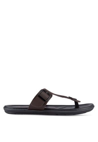 Louis Cuppers brown Casual Sandals LO977SH13RDUMY_1