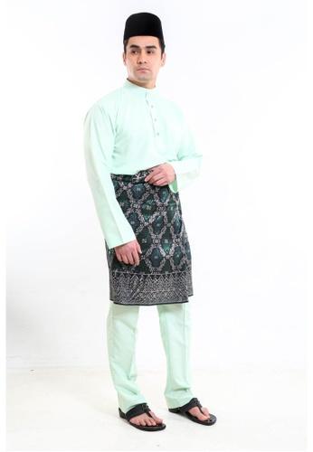 Amar Amran green Baju Melayu Moden C579CAA179F1A4GS_1
