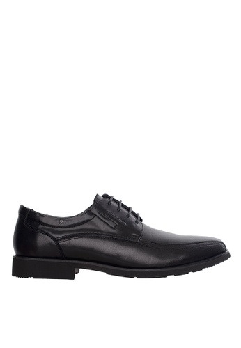 Obermain black Obermain Men's Bommel Slip On Dress Shoe - Black A77CESHE6E283AGS_1