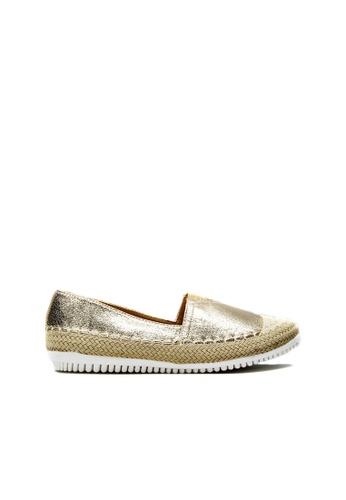 SEMBONIA gold SEMBONIA Textile Loafer (Gold) 47C9ASHC67C203GS_1