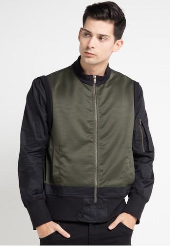 (X) S.M.L multi Emery Jacket XS330AA0WEADID_1