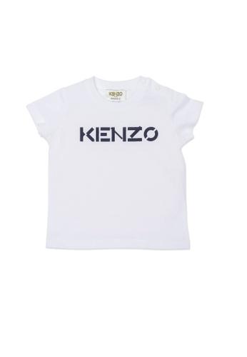 KENZO KIDS white KENZO BABY BOYS T-SHIRT 730ACKAD237677GS_1