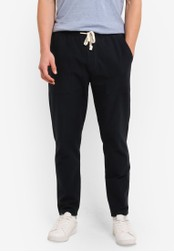 Abercrombie & Fitch navy Casual Sweatpants AB423AA0SBO2MY_1