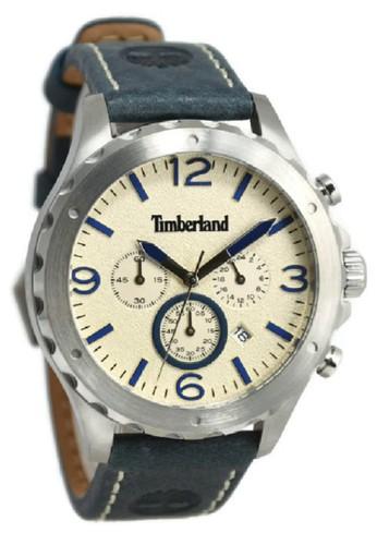 Timberland Jam Tangan Pria Biru Leather Strap TBL14810JS-07