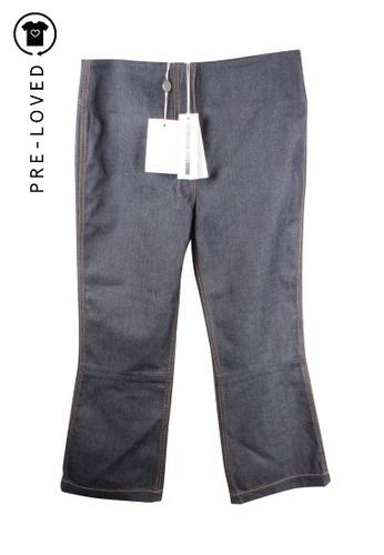 Mcq By Alexander Mcqueen blue mcq by alexander mcqueen Mid - Rise Pants 059B7AA35106C3GS_1